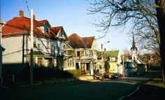 Lunenburg, Nova Scotia Visit Nova Scotia, Mansions, House Styles, Travel, Image, Viajes, Manor Houses, Villas, Mansion