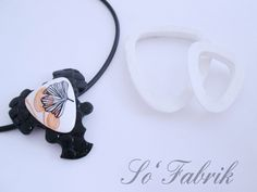 Collier Ginko avec lucyclay cutters