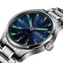 a43ca76c77b3 Carnaval de la marca de lujo de tritio T25 luminosa reloj militar Suiza  cuarzo de los