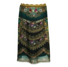 Michal Negrin Skirt with Glitter, Velvet and Crystals ~ ONE WORD: WOW!!!!!!!!!!!!!!!!!!!!!!!!!!!!!!!!!!!!!!!!!!!!!!!!!!