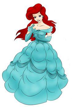 Ariel | Ariel Ariel as Belle