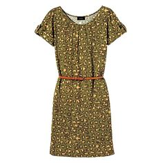 Animal Print Dress with Leather Belt - Shop Summer's 5 Best Trends - Fashion - InStyle.com