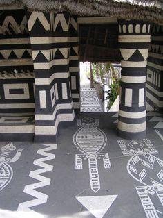 Entrance to Niani Restaurant, Dakar, Senegal