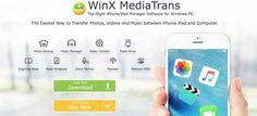 WinX MediaTrans lalternativa ad iTunes per gestire i device iOS si aggiorna!