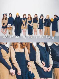Official Korean Fashion : Korean Fashion Similar Look Korean Fashion Trends, Korean Street Fashion, Korea Fashion, Asian Fashion, Look Fashion, Trendy Fashion, Girl Fashion, Winter Fashion, Fashion Outfits