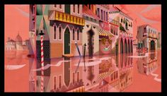 Justin Parpan blog O Sole Minnie- Background art New Mickey Mouse Shorts