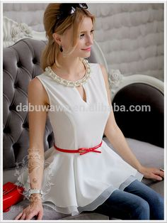 dabuwawa szyfon góry wzór wzory lato tuniki bluzki lata szyfonu szczyty szydełka, Zobacz szyfon Top, DABUWAWA Szczegóły produktu z Shanghai Różowy Doll Trading Co., Ltd. na Alibaba.com