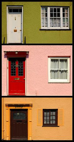 Welsh Cottages    Cottages in Beaumaris, Anglesey. Created with DypStych