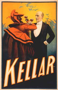 """ Kellar Magic Poster """