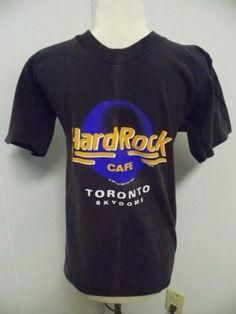Hard Rock Cafe Toronto Vintage 1989 MENS T by PfantasticPfindsToo, $10.00
