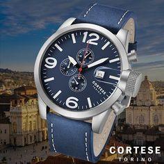 """""""Vandaag hebben we op Watch2Day een spectaculaire aanbieding met de stoere CORTESE Gran Torino C12011 Chronograph! Nu voor maar €79,95, check snel Watch2Day.nl! @cortesewatches #watch2day #cortese #cortesewatches #chronograph #xl #horloge #watch #watchfam #wristporn #watchfreak #watchmania #instawatch #instagood #fashion #italiandesign"""" Photo taken by @watch2day on Instagram, pinned via the InstaPin iOS App! http://www.instapinapp.com (09/09/2015)"""