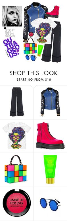 """0.00.101"" by estrellica ❤ liked on Polyvore featuring Miu Miu, Coach, Pierre Hardy, Dolce&Gabbana, Tata Harper, MAKE UP FOR EVER, Monday, F and polyvoreeditorial"