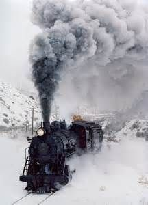 trains in winter - Bing Images