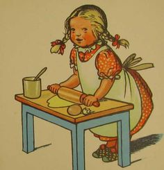 Alte Kinderreime - Bilderbuich 50er Karten Diy, Cordon Bleu, Alter, Kindergarten, Princess Zelda, Fictional Characters, Pink, Happy Day, Happiness