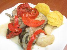Somn cu legume la cuptor Caprese Salad, Cooking Recipes, Chef Recipes, Insalata Caprese, Recipes
