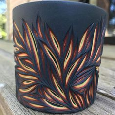 This piece is on fire Mini website update coming up this afternoon. Limited numbers of one of kind carved cups, Lava and glaciers Have you bought your Mother's Day presents . Beautiful Candles, Best Candles, Diy Candles, Beeswax Candles, Carved Candles, Candle Art, Candle Carving Diy, Candle Making Business, Candle Making Supplies