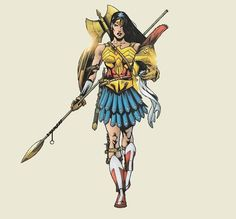 New Wonder Woman: Art of War Statues - designs by Cliff Chiang and Tony Daniel - Page 5