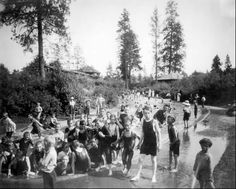 Spokane's Old Liberty Park during the early part of the 20th-century