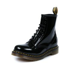 8a049e4eb204 Shop for Womens Dr. Martens 8-Eye Boot in Black Patent at Shi by