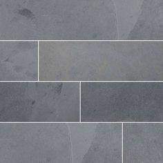 MSI Montauk black slate tile is versatile enough to be used for both indoor and outdoor projects. Order black slate tile at Ellegant Home Design! Grey Slate Tile, Slate Wall Tiles, Slate Stone, Slate Flooring, Kitchen Flooring, Entryway Flooring, Kitchen Backsplash, Kitchen Countertops, Black Slate Floor