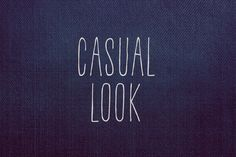 Casual Look by BLKBK on @creativemarket