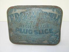 Edgeworth Tobacco Tin, Vintage 1940 – 1950