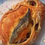 Feliz viernes de #FF, Pan de Boquerón y Aceitunas