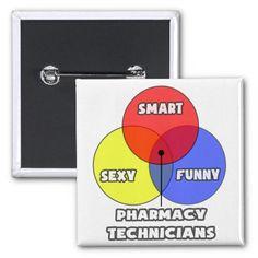 Venn Diagram .. Pharmacy Technicians Button
