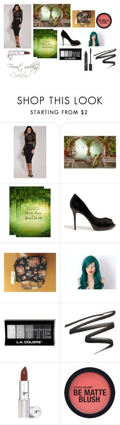 """""""For musicfreakofnature (friend) - musicfreakofnature's ideal wardrobe by me: Forest wedding!"""" by sarah-m-smith ❤ liked on Polyvore featuring Phase Eight, Christian Dior and It Cosmetics"""