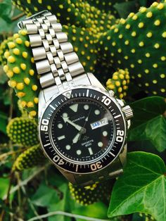 Seiko Kinetic Sports 200 Sapphlex Crystal Diver Wristwatch in Jewellery &…