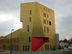 Metal sheet and panel for roof / Metal sheet and panel for facade TECU® Gold by KME Architectural Solutions