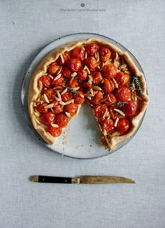 Tomato galette | What Should I Eat For Breakfast?