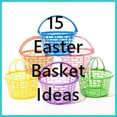 15 Easter Basket Ideas #diy #holiday