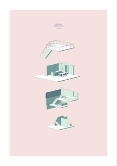 archisketchbook - architecture-sketchbook, a pool of architecture drawings, models and ideas  - Infill House - Food For The People   Zoe Ella.  ...