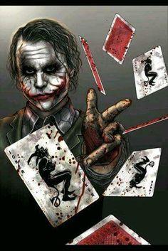 The Joker Batman: The Dark Knight Joker Heath, Le Joker Batman, Joker Y Harley Quinn, Der Joker, Joker Art, Comic Book Characters, Comic Character, Comic Books Art, Comic Art