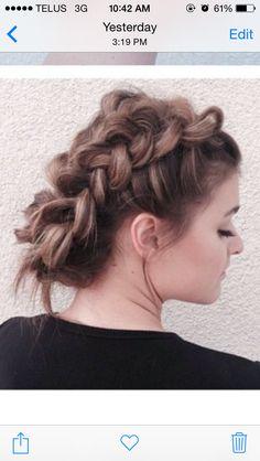 visible braid