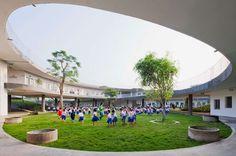 Vo Trong Nghia's innovative school, Dongnai, Vietnam