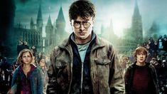 Harry, Ron, and Hermione search for Voldemort's remaining Horcruxes in their effort to destroy the Dark Lord as the final battle rages on at Hogwarts. Albus Dumbledore, Young Severus Snape, Albus Severus Potter, La Saga Harry Potter, Harry Potter Movies, Hermione Granger, Ron Et Hermione, Lord Voldemort, Bellatrix Lestrange