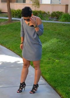 Fashion, Lifestyle, and DIY: Casual Friday Pullover Dress + Oliso Smart Iron Look Fashion, Diy Fashion, Ideias Fashion, Autumn Fashion, Fashion Outfits, Womens Fashion, Fashion Trends, Cheap Fashion, Fashion Online