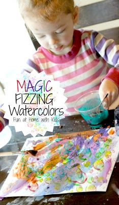 Play Recipe- Magic Watercolors - Pinned by @PediaStaff – Please Visit  ht.ly/63sNt for all our pediatric therapy pins