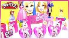 barbie surprise eggs, surprise hearts