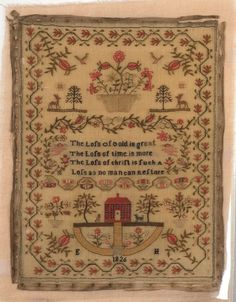 WROUGHT BY JANE ELLIS, 1819.  Is this available as a pattern?