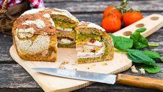 Plnený piknikový bochník Sandwiches, Food, Essen, Meals, Paninis, Yemek, Eten