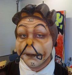 beauty and the beast face painting - Google Search