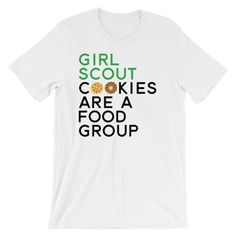 I/'ll Just Buy One Box of Cookies Said No One Ever Funny Girl Scout Cookie Cotton Tote Bag