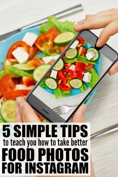 If you love Instagram but struggle to take stellar photos, you'll love this collection of tips to teach you how to take better food photos for Instagram!
