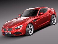 BMW Zagato Coupe Concept 2012