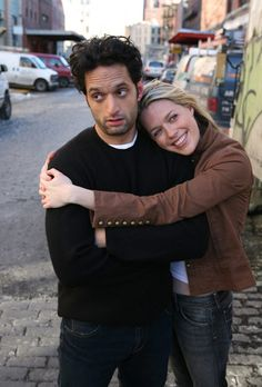 Jason Mantzoukas and Jessica St. Clair. Jason's kind of a stone cold fox without the beard.