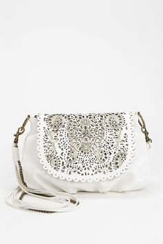 ecote Laser-cut Scalloped Crossbody Bag from UO