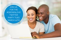 Moms 'N Charge Join Us for the #GrownLove Twitter Party Tuesday March 10th - Moms 'N Charge #twitterparty with Lamman Rucker